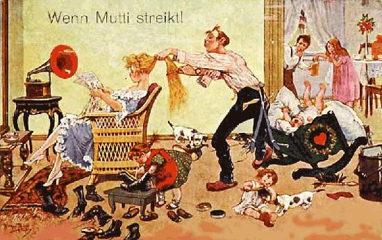 Wenn Mutti streikt!